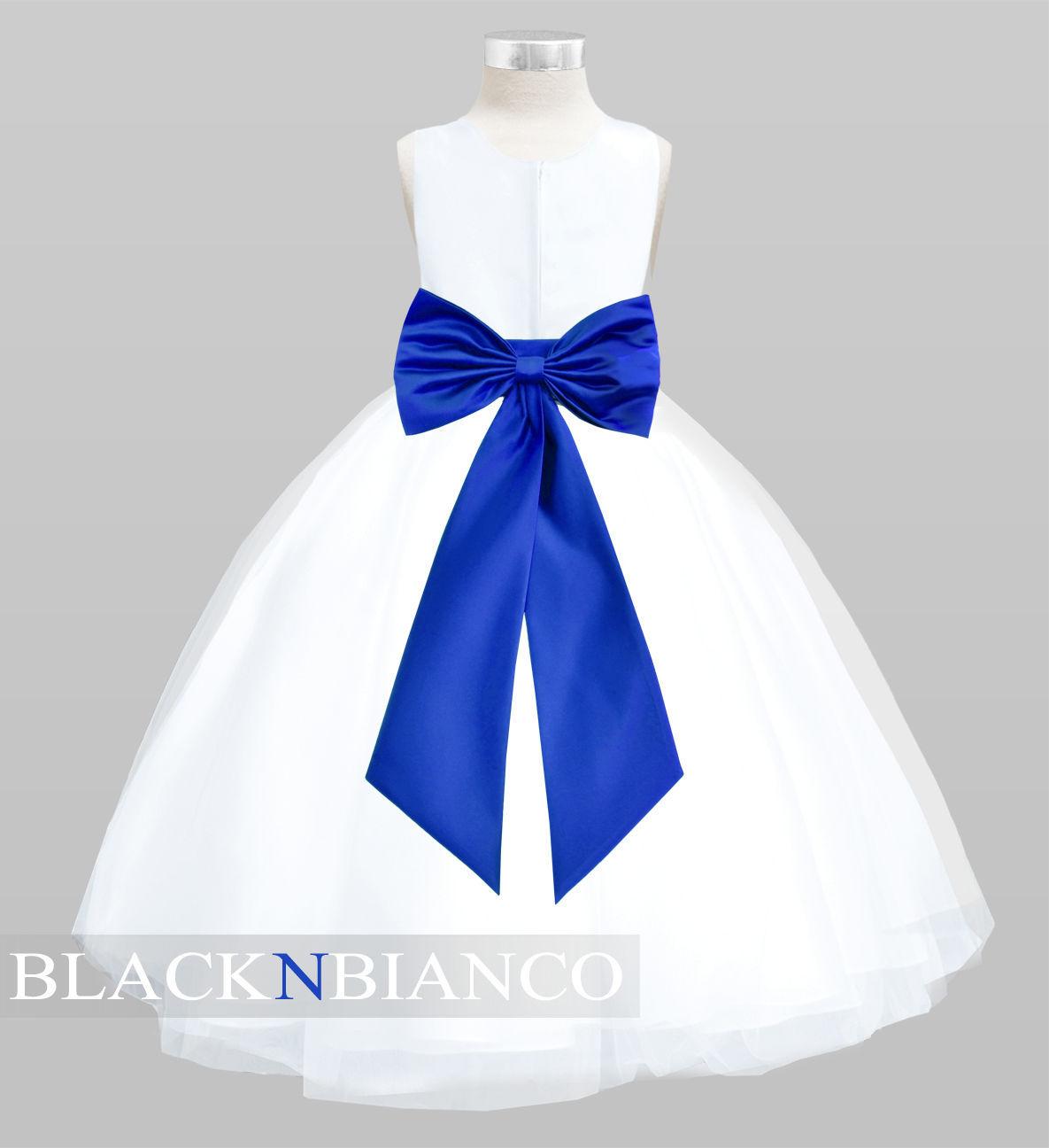 White Flower Girl Dress For Weddings And 28 Similar Items