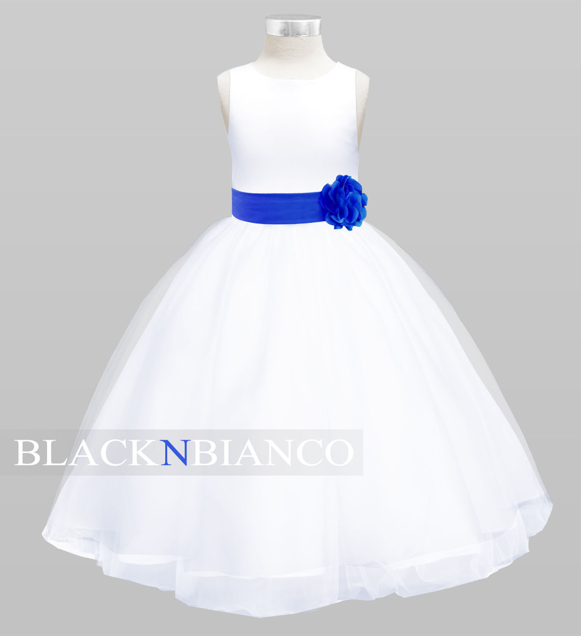 White flower girl dress for weddings and similar items izmirmasajfo Image collections