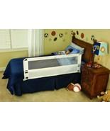 Child Bed Rail Toddler Safety Long Hide Away Gap Guard Mattress Strap Nu... - $39.17