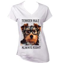 Yorkshire Terrier 1  Always Right   New Cotton T Shirt  S M L Xl Xxl - $25.24