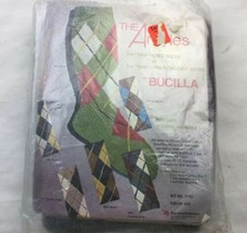 Bucilla The Argyles Sock Kit 7792 Vintage knit knitting craft  - $23.35