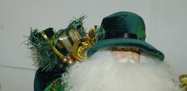 American Silkflower Irish Father Christmas S02481 Standing 23 Inches image 5