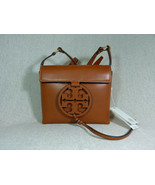 NWT Tory Burch Aged Camello Leather Miller Cross-Body Bag $398 - $384.12