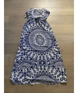 NWT Ark & Co White & Navy Blue Geometric Dress SIZE SMALL - $20.00