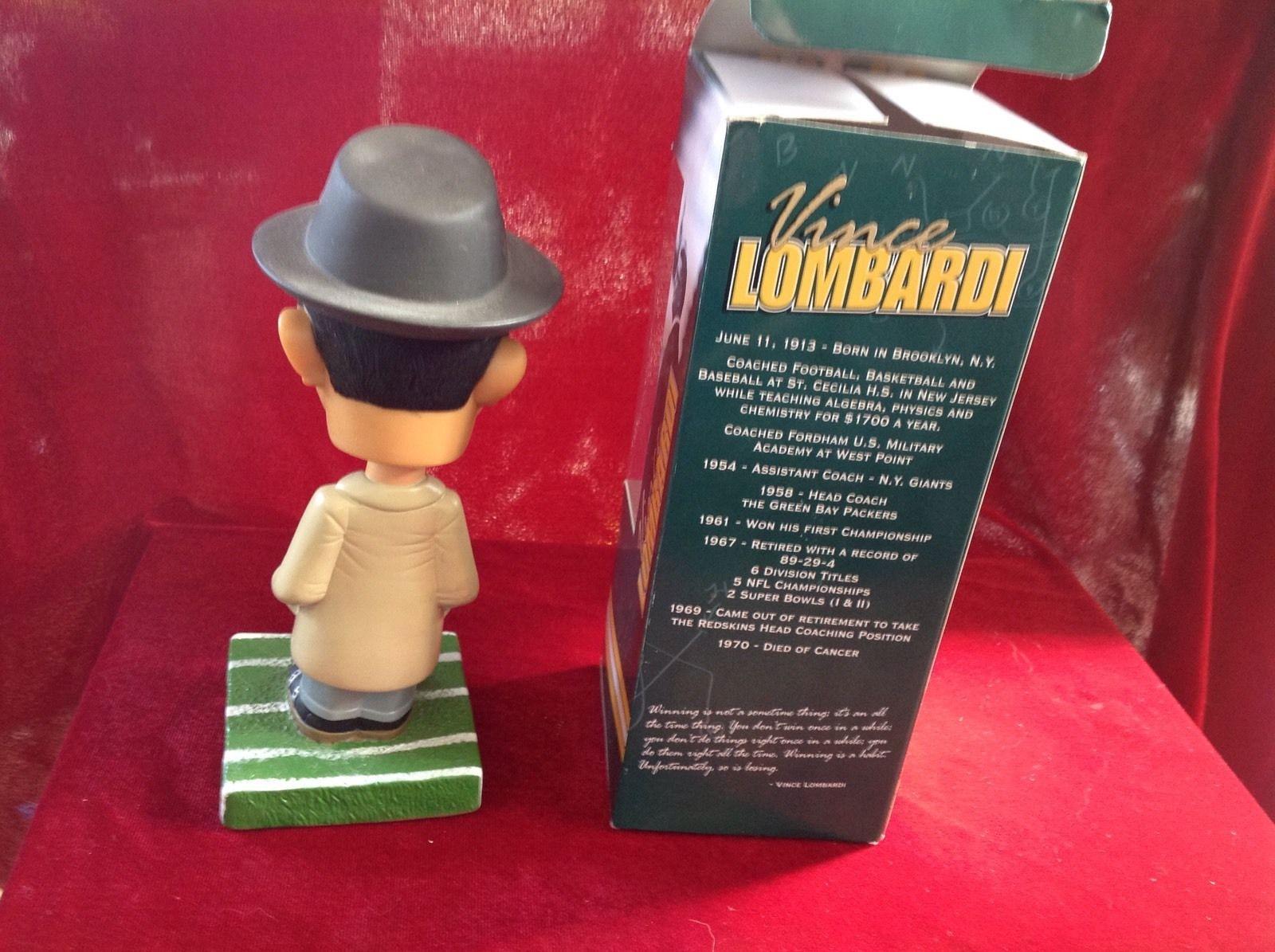 Vince Lombardi Bobblehead Bosley Bobbers 2002