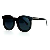 Womens Fashion Sunglasses Oversized Round Horn Rim Arrow Design - $9.95