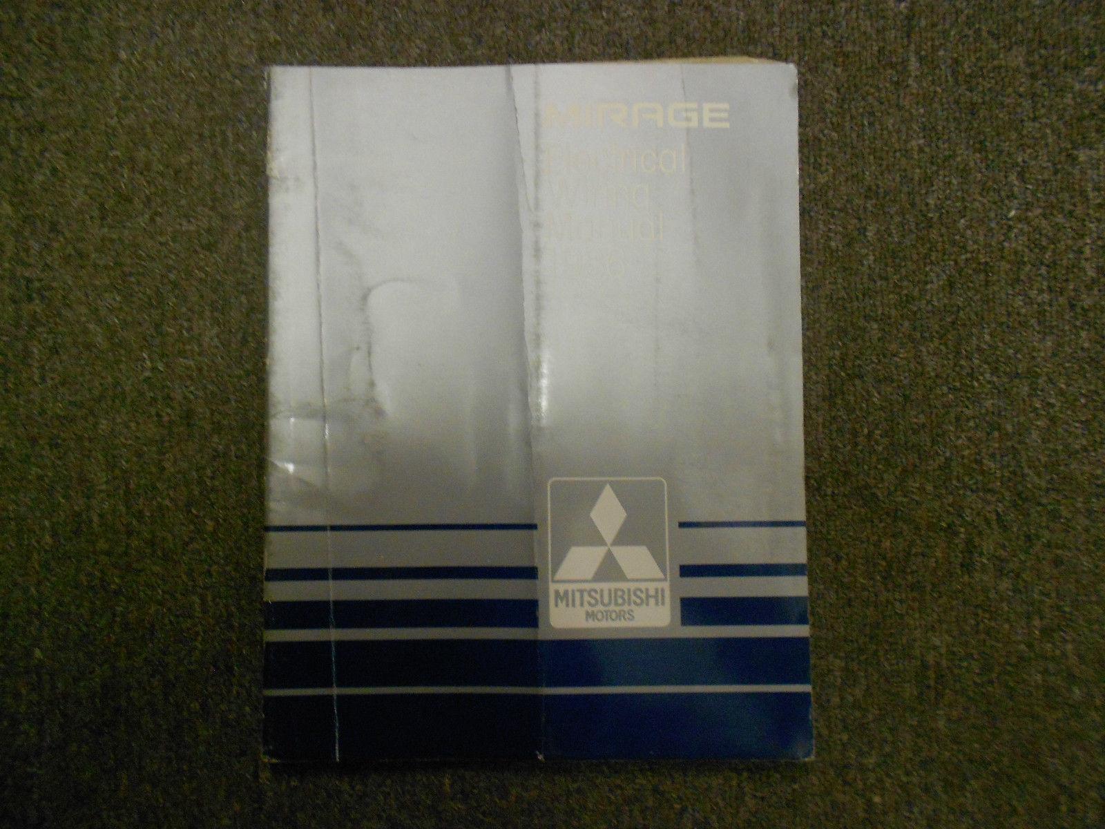 1997 MITSUBISHI Galant Service Repair Shop Manual FACTORY OEM BOOK 97 SET DEAL