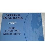 2006 Ford F-650 750 Truck WIRING Diagrams Service Shop Repair Manual EWD... - $44.54