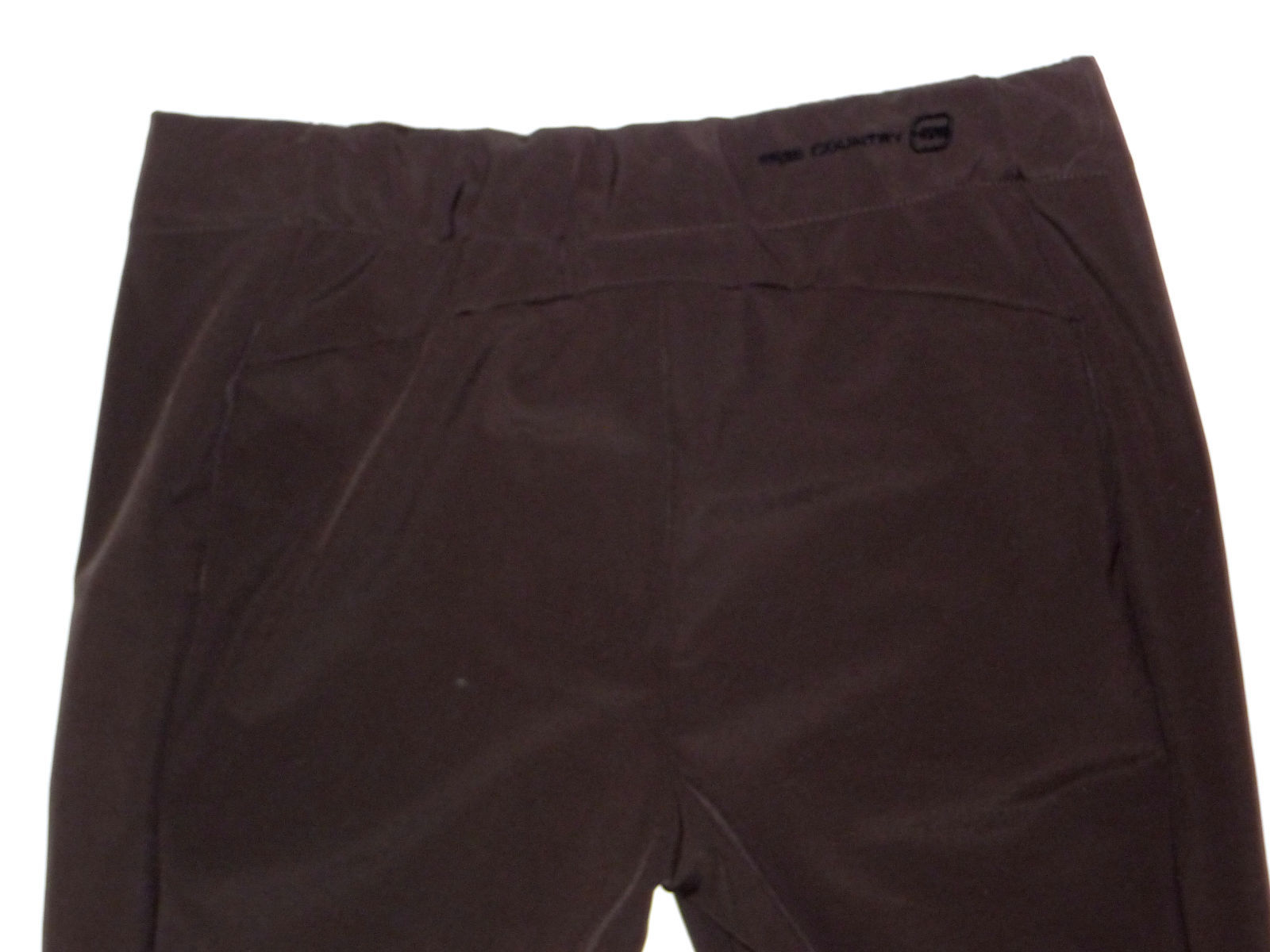 Free Country Pants Womens Ski Hike Softshell Womens Water Resistant Brown L image 5