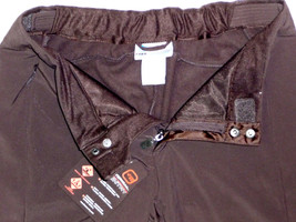 Free Country Pants Womens Ski Hike Softshell Womens Water Resistant Brown L image 2