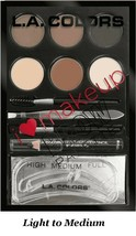 NEW & FACTORY SEALED L.A. Colors I Heart Makeup Brow Palette (Light-Medium) - $6.00