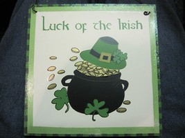 Irish Plaque Luck of the Irish - $6.04
