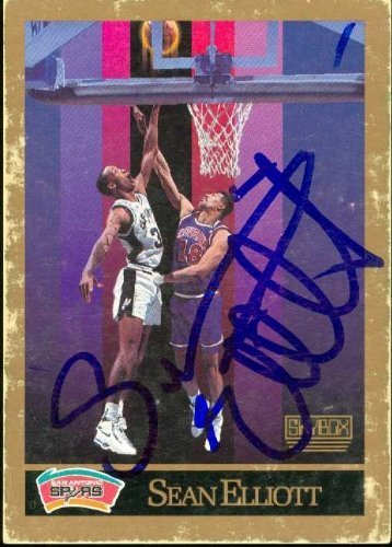 Primary image for Sean Elliott autographed Basketball Card (San Antonio Spurs) 1990 Skybox #256
