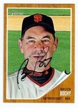 Bruce Bochy autographed Baseball Card (San Francisco Giants) 2011 Topps ... - $18.00
