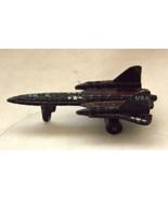 Vintage Micro Machines Military Aircraft SR-71 Blackbird Galoob Miniatures - $4.99