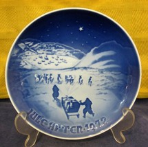1972 Bing & Grondahl Christmas Plate Christmas Greenland Denmark Danish ... - $24.26