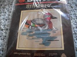 Green Winged Teal Crewel Kit - $14.00