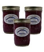 Queen Bee Gardens Naturally Flavored Whipped Wyoming Honey - Huckleberry... - $39.60