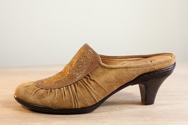 Sofft Sz 10 Brown Mules Heels Women's Shoes - $26.00