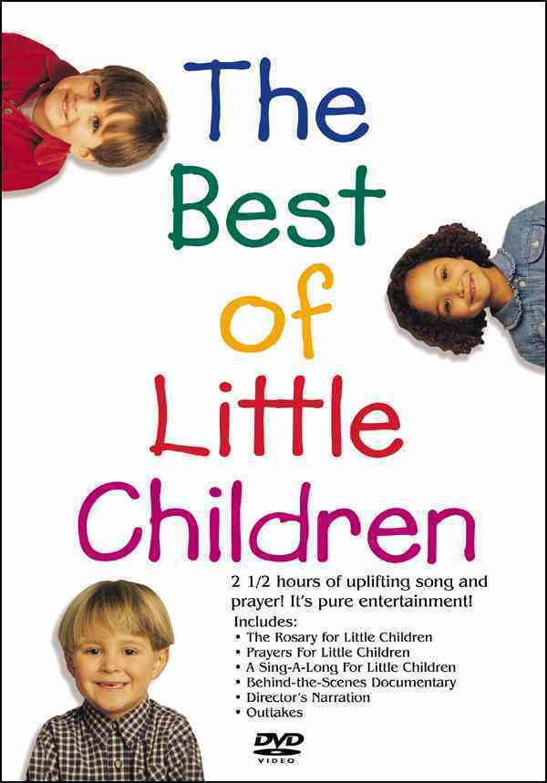 The best of little children   4 dvd set of prayers and songs