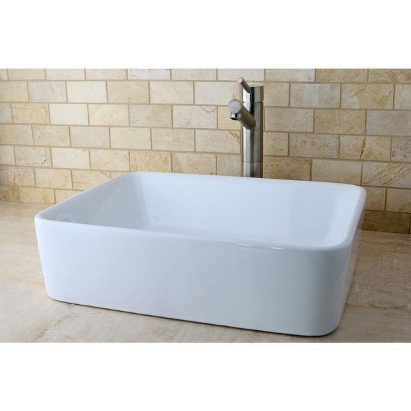 Petite Vessel Sink : NEW! French Petite White Vessel Sink - Sinks