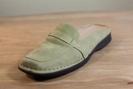 Dockers Sz 8.5 Slip On Green Suede Women's Shoes - $18.00