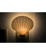 DEEP SCALLOP Sea Shell NIGHTLIGHT Bathroom Kitchen 7348 - $9.00