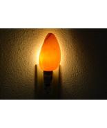 orange MELON volute Sea Shell NIGHTLIGHT Bathroom Kitchen 7125M - $9.00