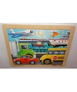 Wooden Melissa & Doug Jigsaw Puzzle On the Go Children 12 Pc. #2931 Pres... - $15.67