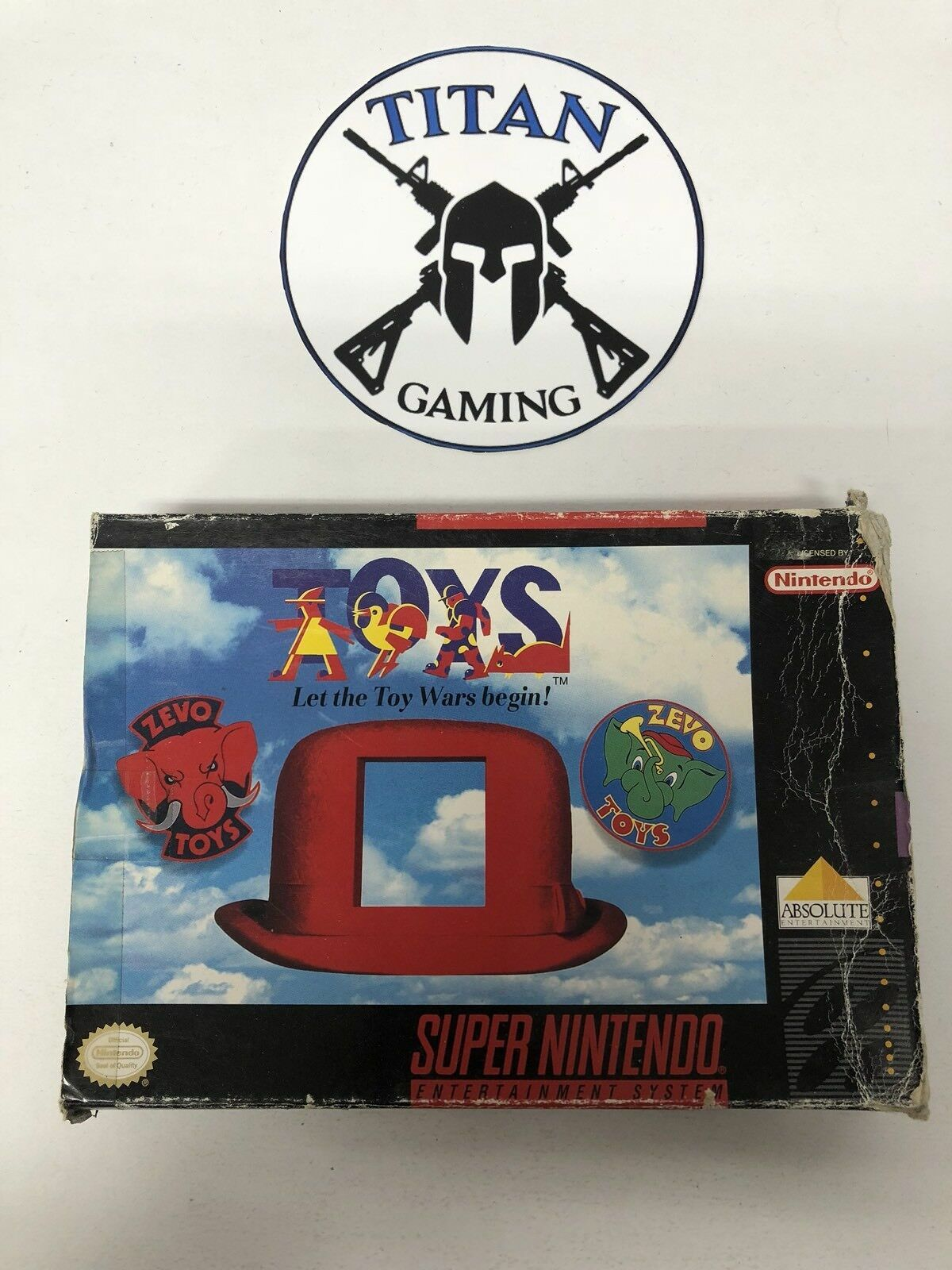 Toys Game by Absolute for Super Nintendo SNES