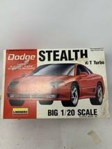 Lindberg Dodge Stealth R/T Turbo plastic 1/20 Model Car - $14.50