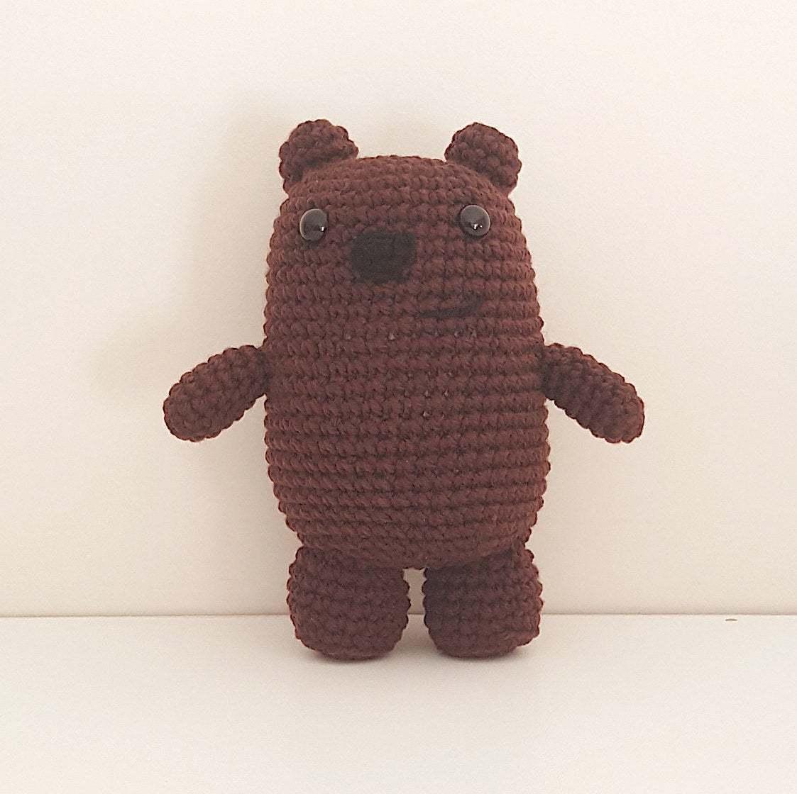 CROCHET PATTERN: We Bare Bears Inspired Bear Stack small | Etsy | 1120x1123