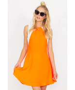 ORANGE DREAM MACHINE DRESS - $75.49