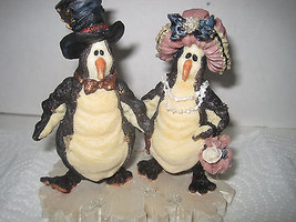 """Boyds Bears and Friends"""" limited edition Penguin couple figurine - $25.23"""