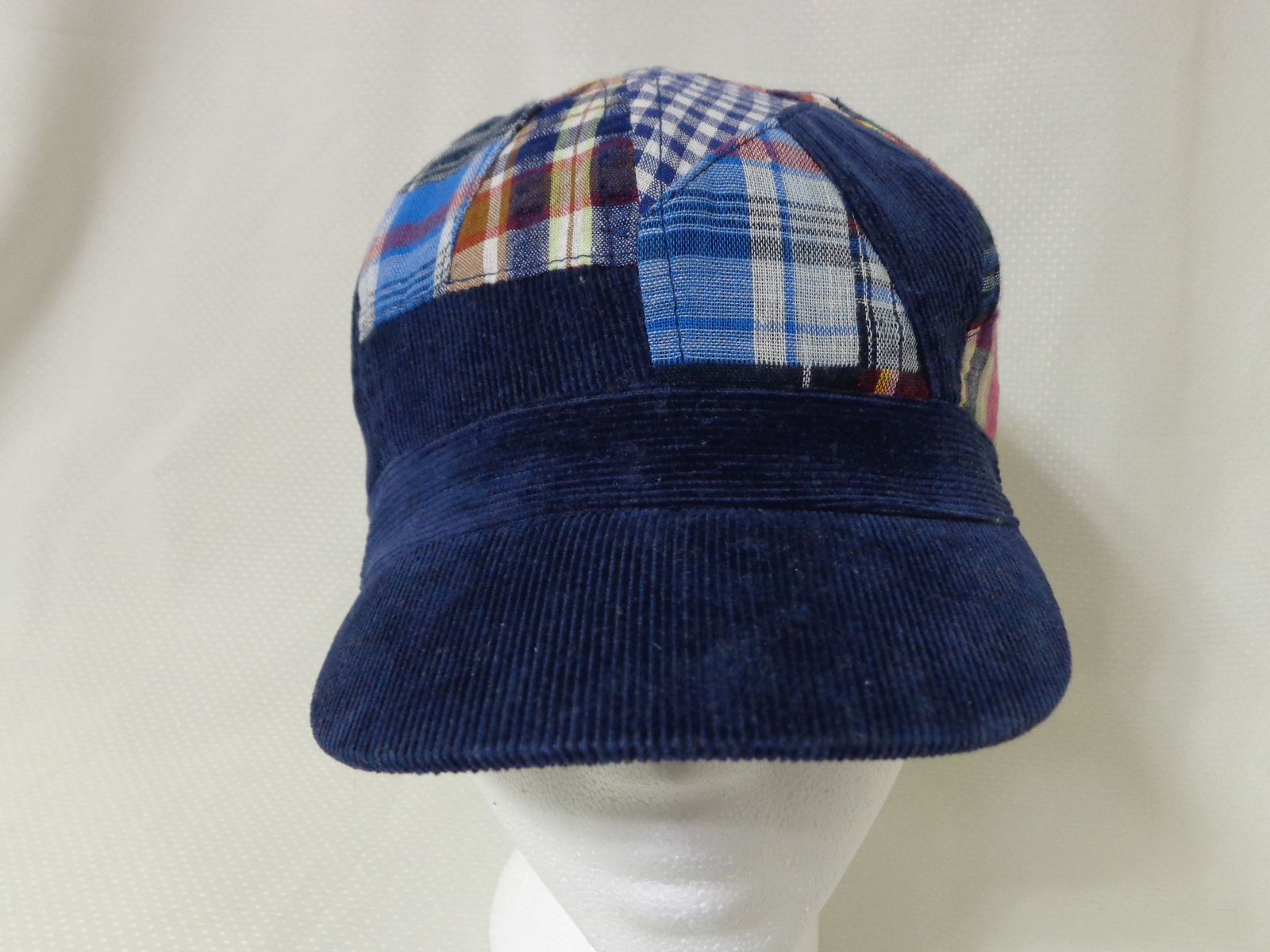 909e81b88f968 Madras and Corduroy Newsboy Cap XS-Small Size and 50 similar items