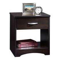 Sauder Beginnings Night Stand/ Shelf, Cinnamon Cherry - $68.99