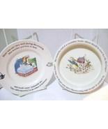 Wedgwood Etruria & Barlaston Peter Rabbit Child's Cereal Bowl &  Plate - $14.00