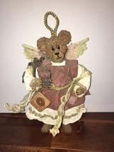 """Boyds Bears Crumpletons FAITH CRUMPLETON Style 73105 Figurine Ornament 12"""" - $33.87"""