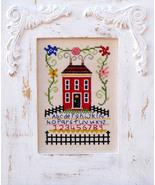 Sampler In Bloom cross stitch chart Bobbie G Designs - $7.20