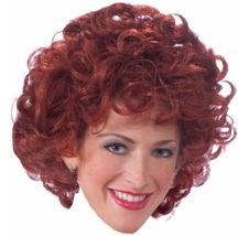 Annie - Wig - Adult - Little Orphan Annie the Musical Costume Accessory - $12.14