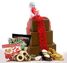 Gluten Free Palace I Love You, Mom Mother's Day Cookie Gift Tower, Large - $31.18