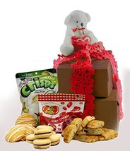 Gluten Free Palace I Love You, Mom Mother's Day Cookie Gift Tower, Small - $22.27