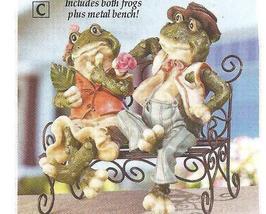 Frog First Date Sculpture Figurine - $21.75