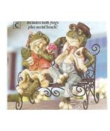 Frog First Date Sculpture Figurine - $21.75