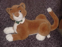 "21"" Disney Lying Thomas O' Malley Plush Toy From The Aristrocats - $93.49"