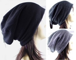 1 Pack Women Winter Beanie Beret Hat Baggy Slouchy Oversized Premium Cap... - $11.99