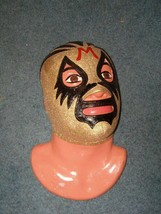 Mil Mascaras Wall Plaque Lucha Libre Wrestling 1990s 14 Inches AAA CMLL WWF - $110.00