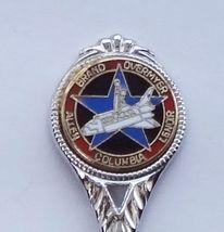 Collector Souvenir Spoon USA Florida Space Shuttle Columbia Nov. 1982 Astronauts - $7.99