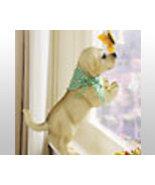 Peeping Resin Dog Sculpture  - $21.75