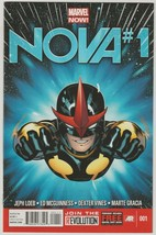 Nova #1 NM/NM+ 2013 Marvel Comics Now Sam Alexander 1st Print Loeb McGui... - $6.92